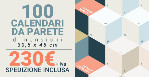 Calendari personalizzati su www.dgprinter.it