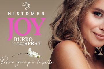 Joy burro-spray delicato e avvolgente
